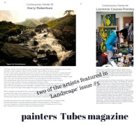 02-two of the artists featuredin Tubes 'Landscape' new issue(1)