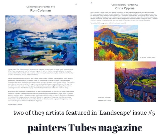 10-two artists featured in 'Landscape' issue #5