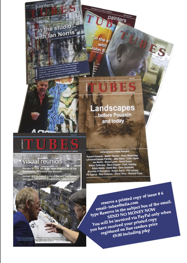Tubes magazine - printed Copies available