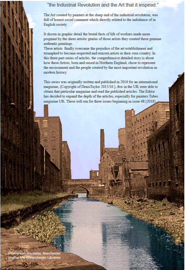 Art and the Industrial Revolution -painters Tubes magazine
