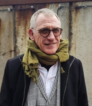 Denis Taylor Artist and Editor of painters Tubes magazine at Copenhagen Art Space