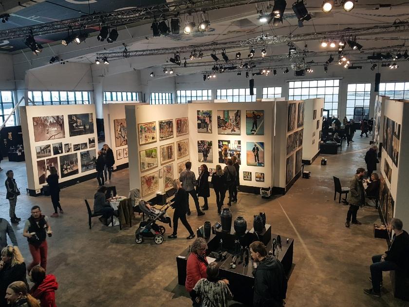 Painters Tubes magazine visits CPH Art Space