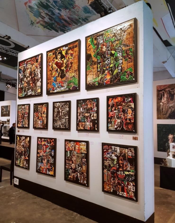 Denis Taylor visits Preben Saxild at CPH Art Space