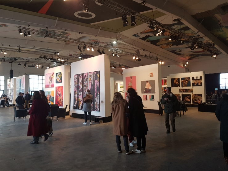 Denis Taylor Artist at Copenhagen Art Space