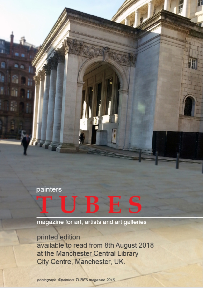 painters Tubes now at Manchester Central Library