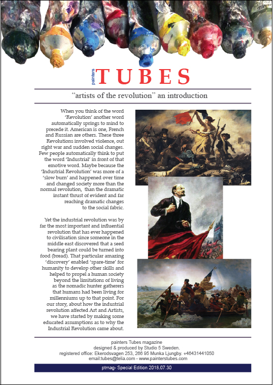 painters Tubes magazine, summer special edition