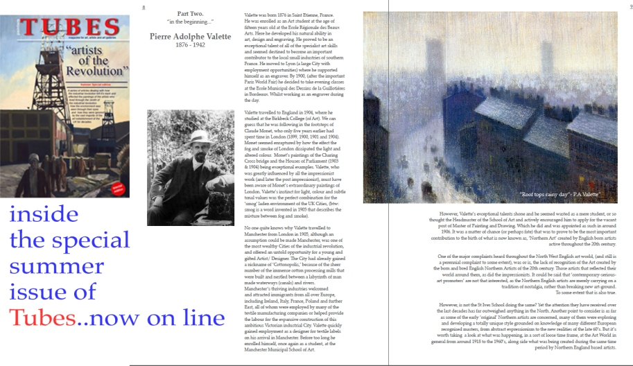 painters Tubes Summer Special Now Free to read on line.