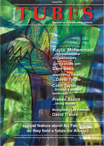 painters Tubes Magazine-new issue no on line